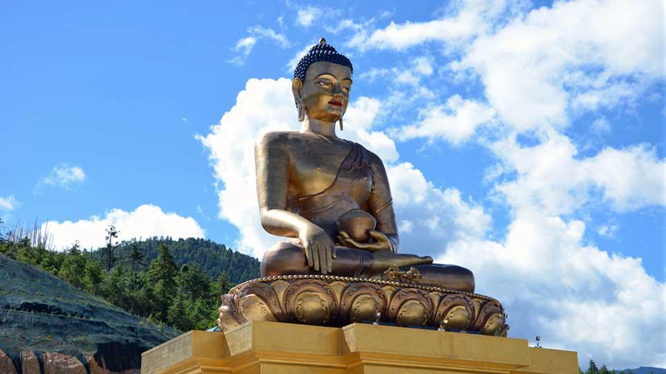 169ft Buddha Dordenma Statue in Thimphu, Bhutan