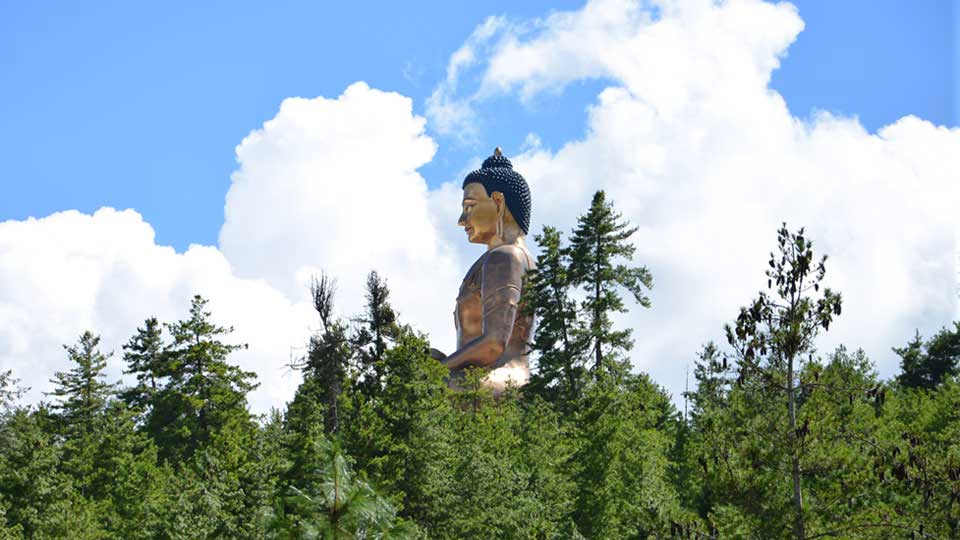 Buddha Point - The 169 ft tall Buddha Statue in Thimphu, Bhutan
