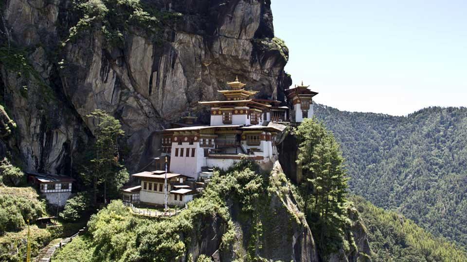 Paro Taktsang Monaster at 3120m, Paro, Bhutan