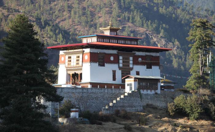 Dechen Phodrang Monastic School in Thimphu,Bhutan
