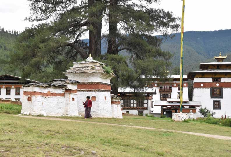 Pangri Zampa monastery in Thimphu,Bhutan