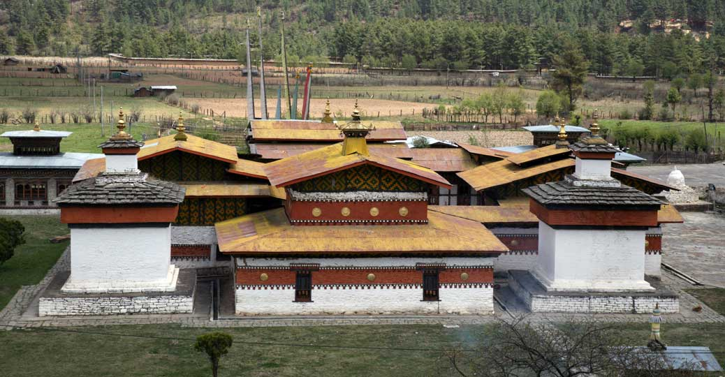 7th century Jampa Lhakhang in Bumthang, central Bhutan.