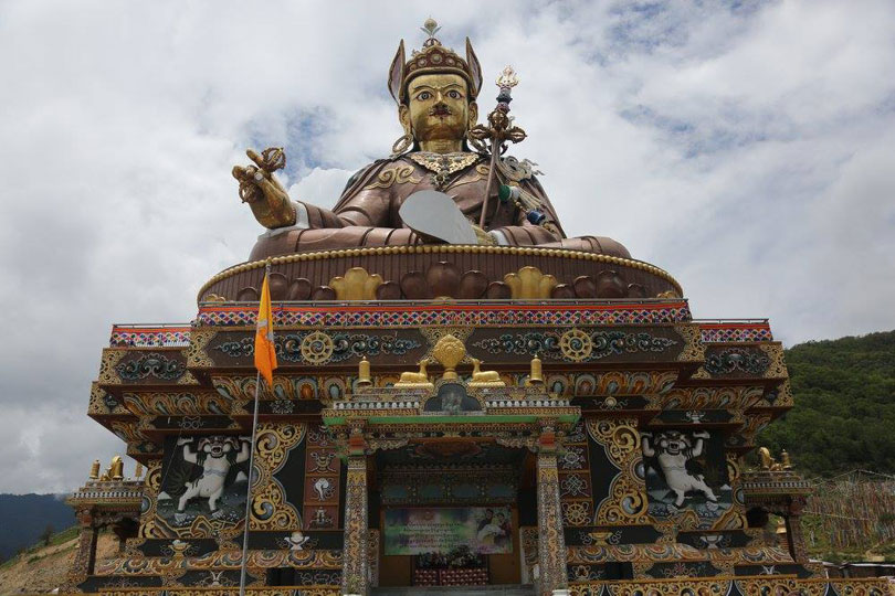 Guru Padmasambhava at Takila, Lhuentse in eastern Bhutan