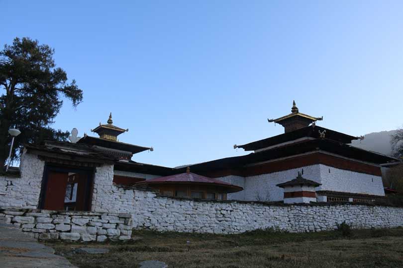7th century Kyichu Lhakhang Temple in Paro