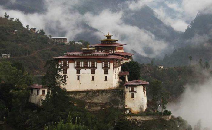 Lhuentse Dzong in Eastern Bhutan