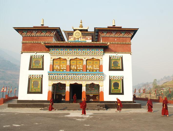 Rangjung Woesel Choeling Monastery in Trashigang, eastern Bhutan.