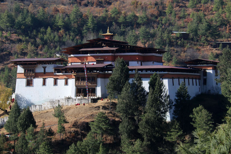 Built in 1631, Simtokha Dzong is the oldest Dzong in built by Zhabdrung Ngawang Namgyel.