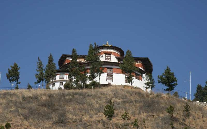 The National Museum of Bhutan, Ta Dzong in Paro, Bhutan