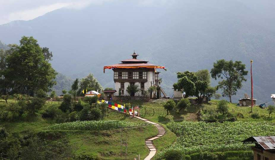 Dunkar Nagtsang - The ancestral home of the Kings of Bhutan
