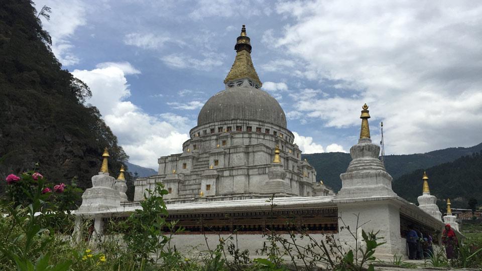 Choeten Kora in Trashi Yantse, Eastern Bhutan