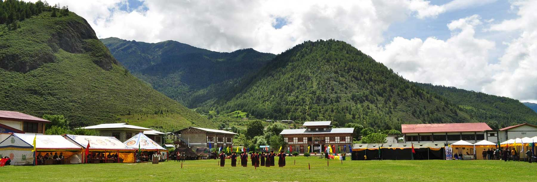 Haa Summer Festival Ground, Bhutan.