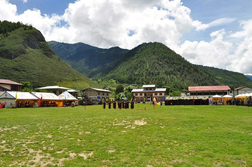 Haa Summer Festival Ground