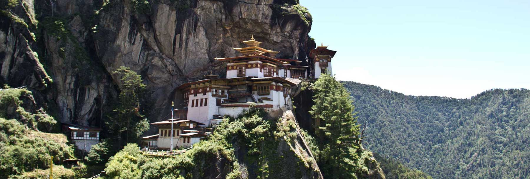 Paro Taktsang or Tiger's Nest, Bhutan.