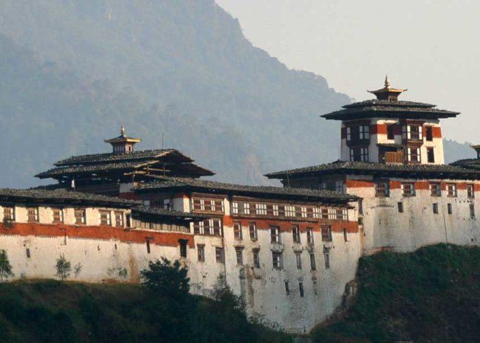 Wangdue Phodrang Dzong. Bhutan