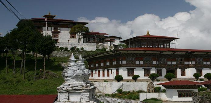 Zhemgang Dzong in central Bhutan