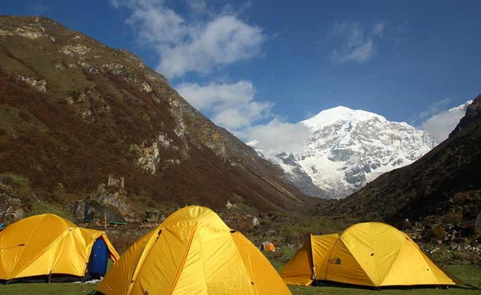 Jomolhari Loop Trek, base camp
