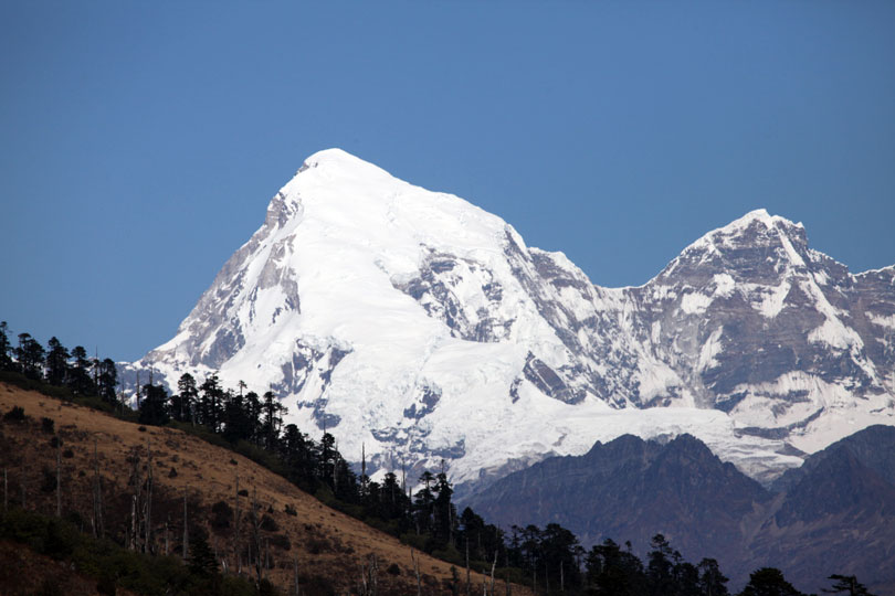 Jomolhari Trek, Mt. Jomolhari, Bhutan.