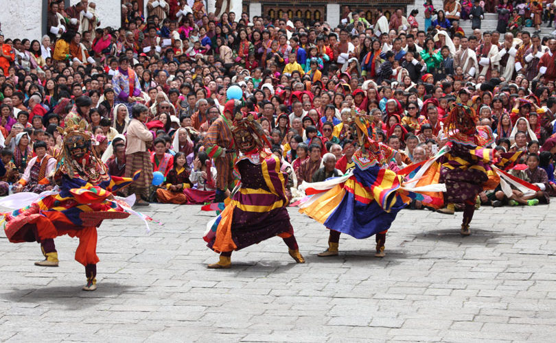 Thimphu Tsechu Festival, Thimphu Tshechu Festival, Festivals of Bhutan.