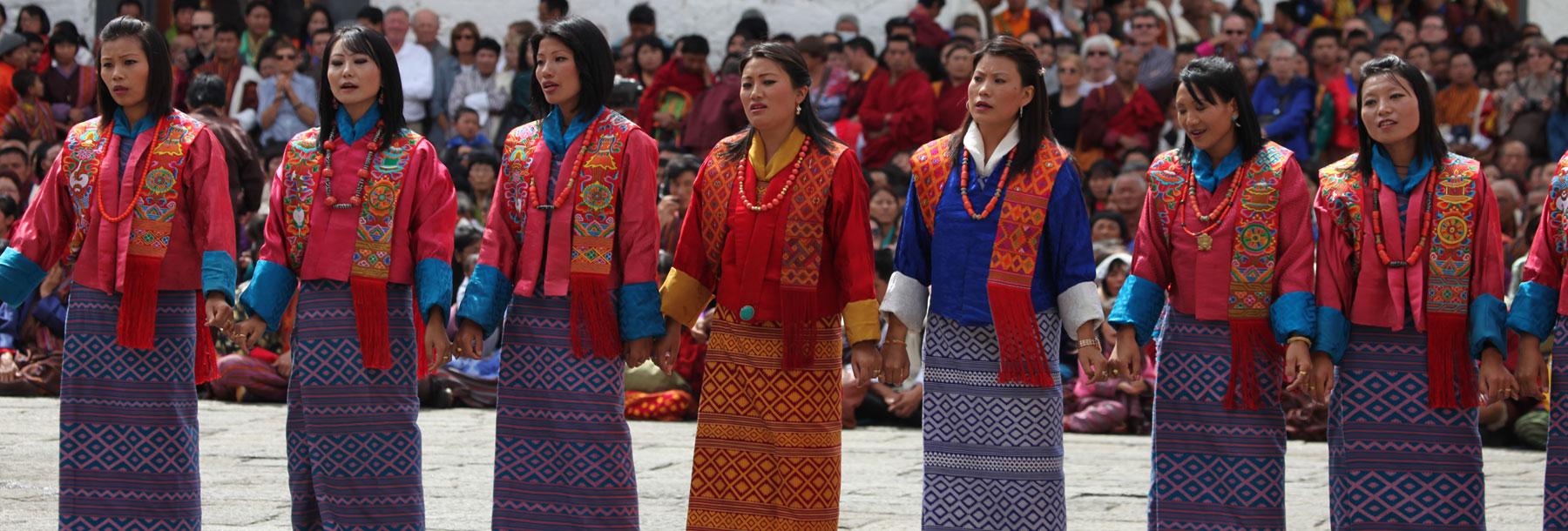 Thimphu Tsechu Festival, Bhutan.