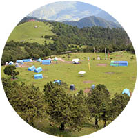 Bumdrak Trekking Campsite at 3860m - Bhutan Acorn Tours & Travel