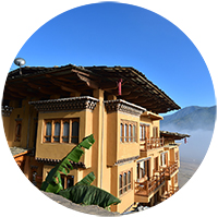 Hotel Lobesa in Punakha - Bhutan Acorn Tours & Travel