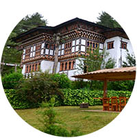 Rinchenling Lodge in Bumthang, Central Bhutan - Bhutan Acorn Tours & Travel
