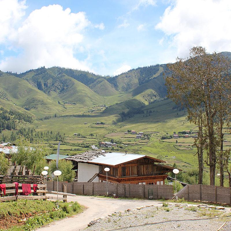 Explore Hidden Kingdom Bhutan - Phobjikha Valley - Bhutan Acorn Tours & Travel