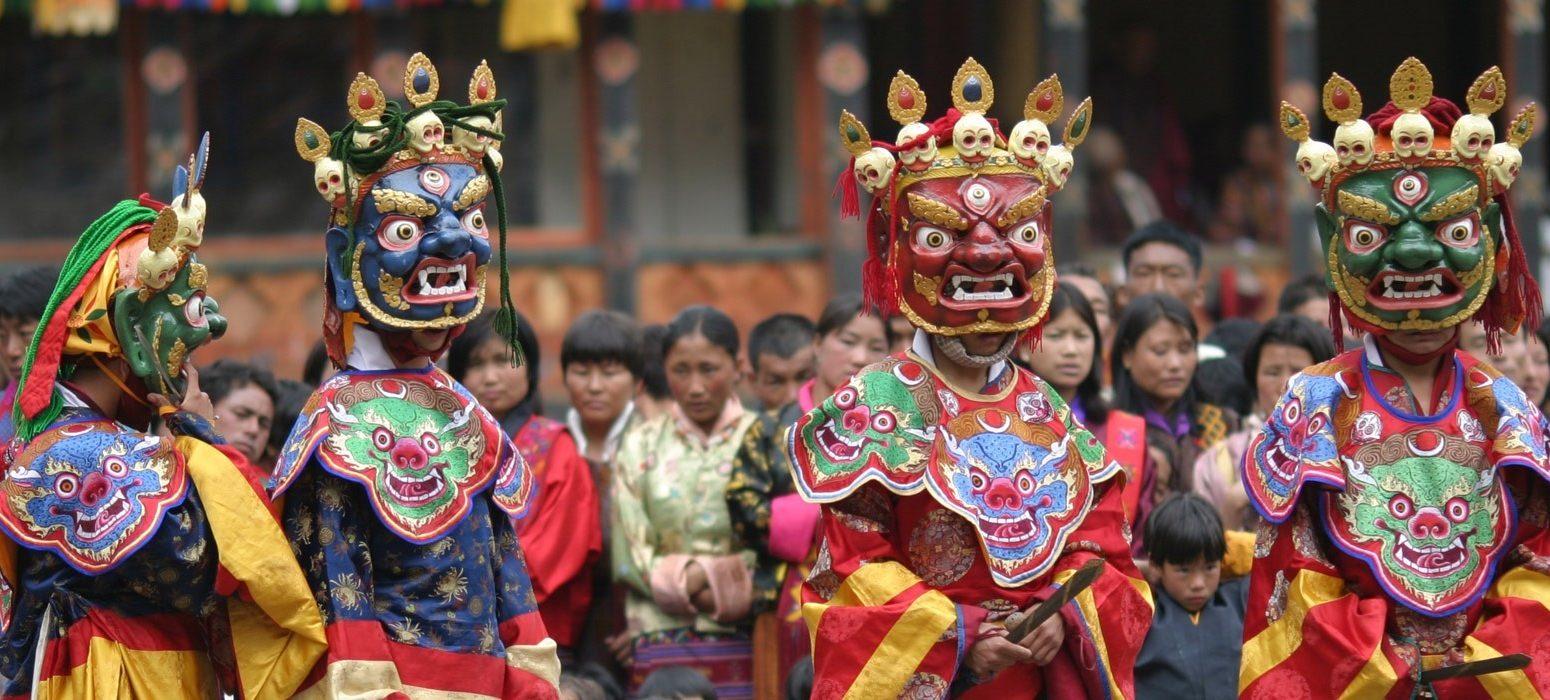 Wrathful Mask Dances of Bhutan