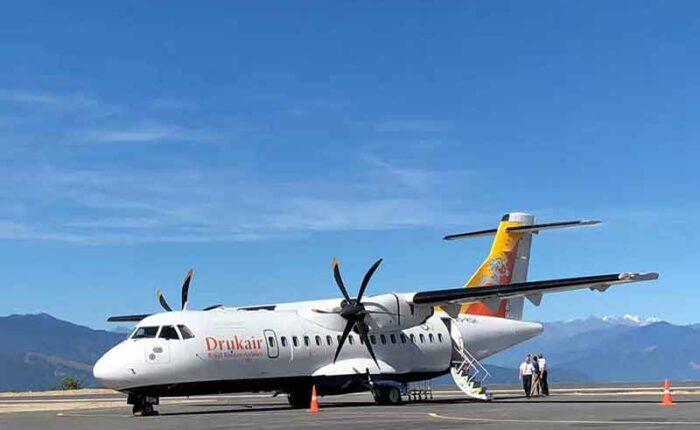 Yonphula Domestic Airport in eastern Bhutan