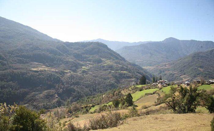 Village in Central Bhutan